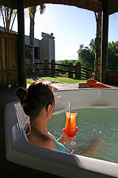 Boulders Lodge and Spa Jacuzzi