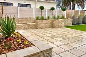 Pavers and Coping - Ledge Stone Cladding