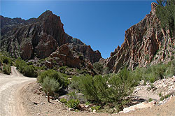Foot of the Swartberg Pass
