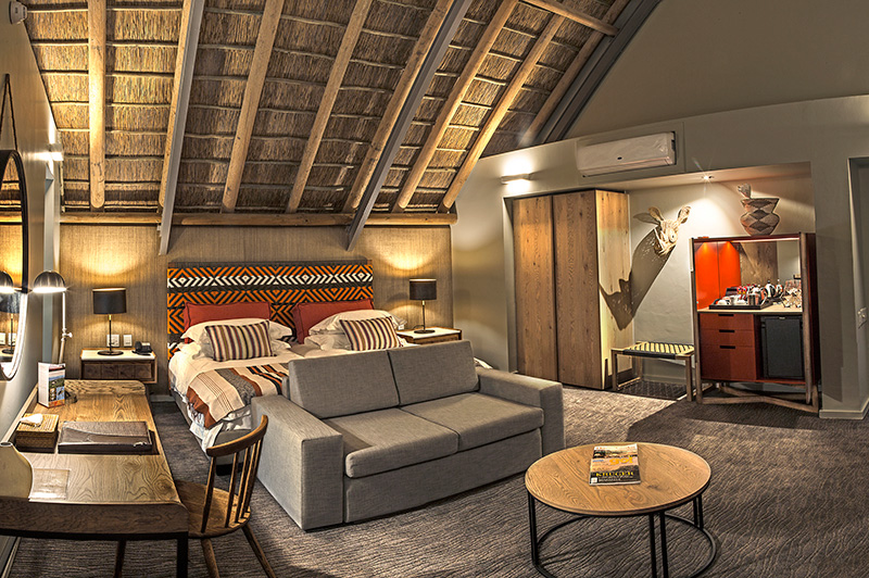 Accommodation suite near Oudtshoorn