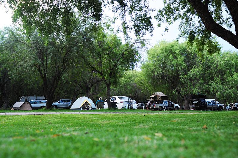 Camping facility in Oudtshoorn