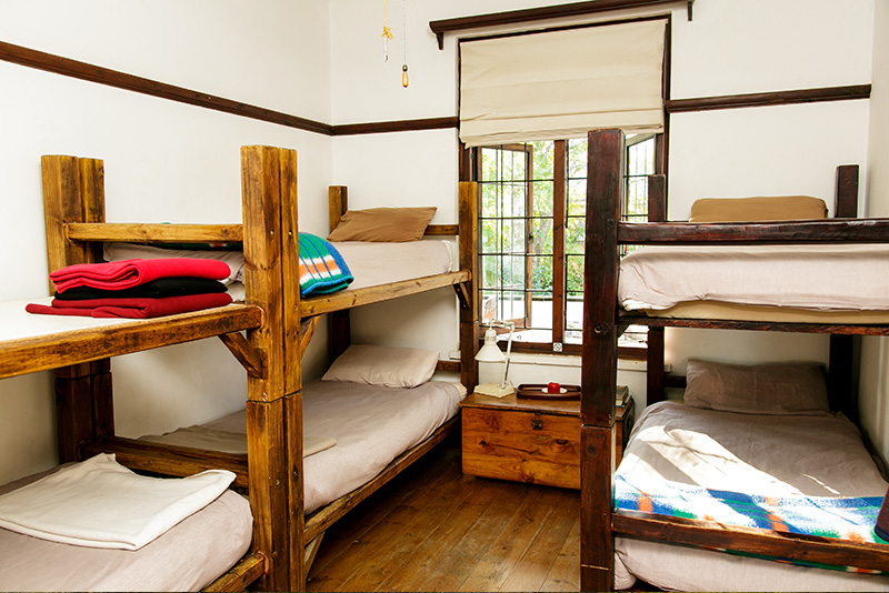 An Oudtshoorn backpackers dormitory