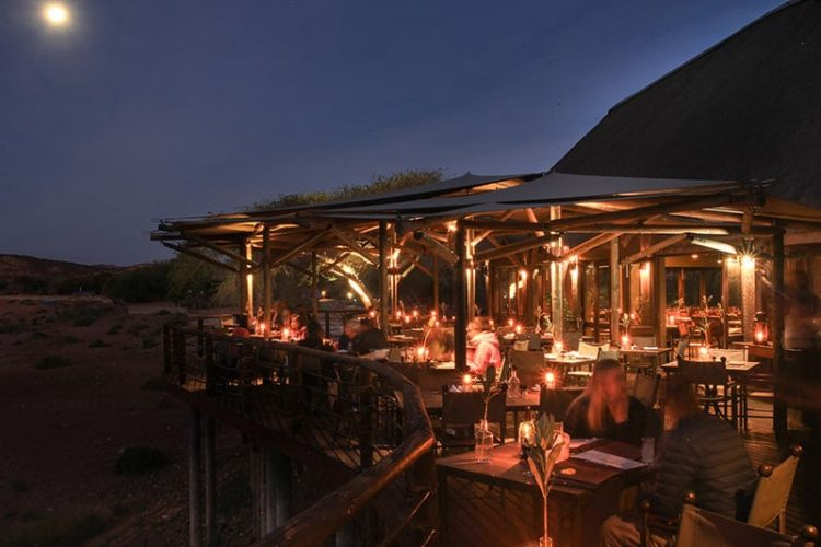 Buffelsdrift Game Lodge Restaurant Exterior