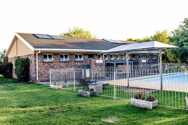 Ablution Block & Swimming Pool